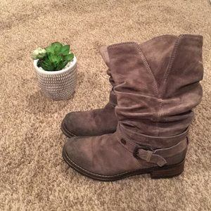 Clarks Moto Boots